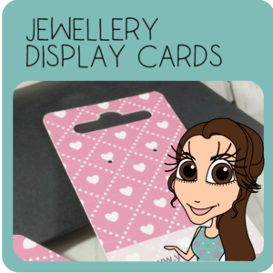 Jewellery Display Cards